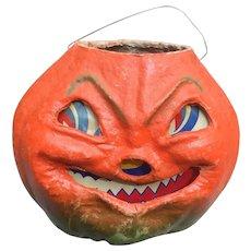Big Grinning Vintage Halloween Jack O Lantern