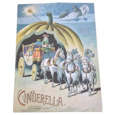 1893 McLoughlin SC Cinderella Children's Book