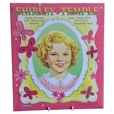 Ideal Shirley Temple Paper Dolls - 18 1/2 Inch Doll
