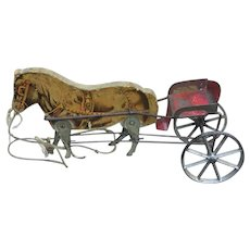 Gibbs Horse And Cart Toy