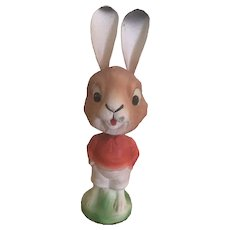 German Bobble Head Rabbit Candy Container