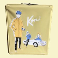Ken Doll, Case, And Clothes