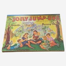 Jolly Jump Ups Pop Up Children's Book Little Black Sambo