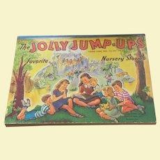 Jolly Jump Ups Pop Up Children's Book Little Black Sambo