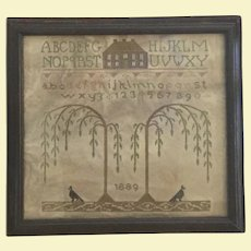 19th Century Memorial Sampler