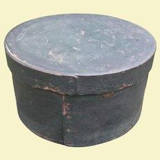 Large Antique Pantry Box In Original Paint