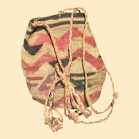 Native American Northwest Indian Sally Bag Basket