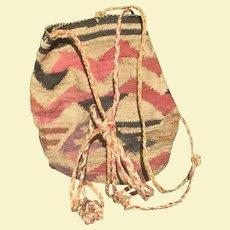 Native American Northwest Indian Sally Bag Basket