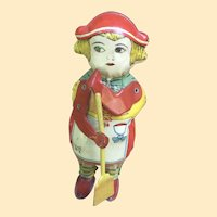 Lindstrom Wind Up Tin Toy