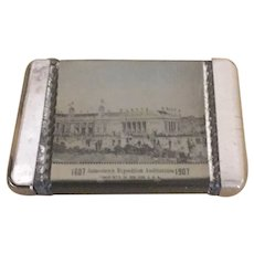 1907 Jamestown Exposition Matchsafe