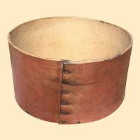 Antique Bentwood Measure In Paint