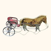 Gibbs Pony Racer Toy Early Twentieth Century