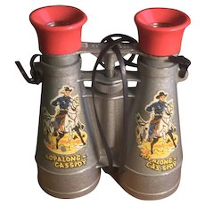 Vintage Hopalong Cassidy Binoculars