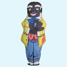 Vintage Uncle Mose Stuffed Doll Advertising Premium