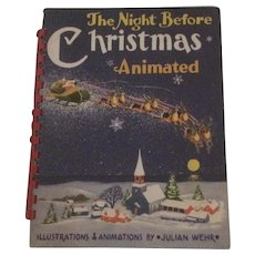 Julian Wehr Animated The Night Before Christmas Children's Book