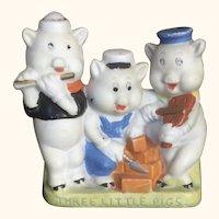 Walt Disney Three Little Pigs Toothbrush Holder