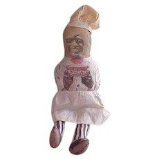 Black Americana Cream Of Wheat Cloth Doll