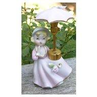 De Vilbiss Little Girl With Umbrella Figurine Perfume