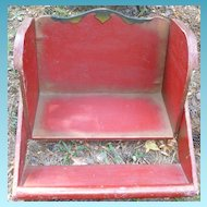 Child's Wooden Carnival Ride Seat