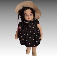 "19"" Cloth Stockinette Artist Doll by Kitty Samarin 1982"