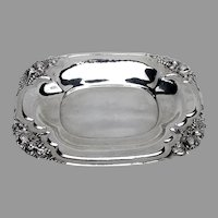 Arts And Crafts Watsoncraft Fruit Tray Watson Sterling Silver