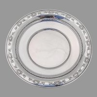 Strasbourg Sandwich Plate Gorham Sterling Silver 1950