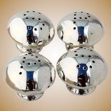 Navajo Salt Pepper Shakers Two Sets Sterling Silver