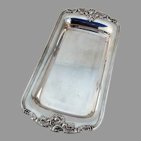 Wallace Baroque Bread Tray No 210 Silverplate