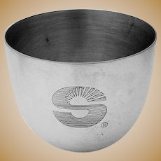 Jefferson Cup Reproduction Stieff Sterling Silver 1960s Mono