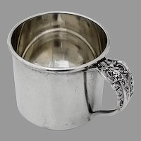 Grande Baroque Baby Cup Wallace Sterling Silver No Mono