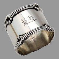 Towle Paul Revere Napkin Ring Sterling Silver Mono
