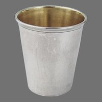 Gorham Large Shot Cup Gilt Interior Sterling Silver No Mono