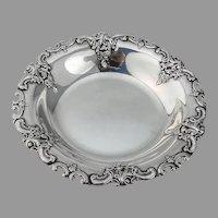 Grande Baroque Bon Bon Bowl Wallace Sterling Silver