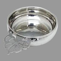 Webster Baby Bowl Porringer Keyhole Handle Sterling Silver