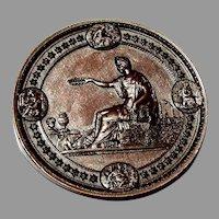 1876 Philadelphia Centennial International Exhibition Bronze Award Medal