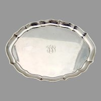 Chippendale Dresser Tray Gorham  Sterling Silver 1948 Mono FPP