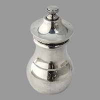 Tiffany Pepper Grinder No 2 Sterling Silver Italy