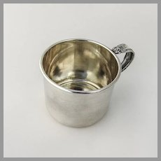 Prelude Baby Childs Cup International Sterling Silver 1939