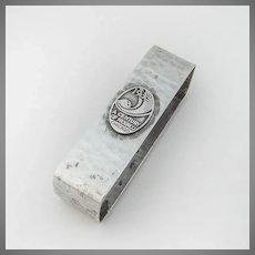 Chicago Worlds Fair Souvenir Napkin Ring Lebolt Sterling Silver 1933