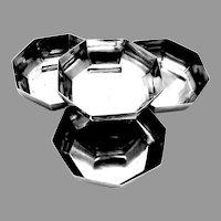 Tiffany Art Moderne Serving Bowls Set Sterling Silver 1960