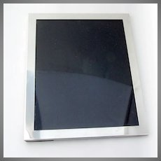 Gorham Plain Design Rectangle Picture Frame No 8 Sterling Silver