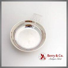 Webster Porringer Baby Bowl Key Hole Handle Sterling Silver 1950