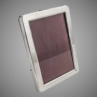Gorham Rounded Rectangle Picture Frame 302R Sterling Silver
