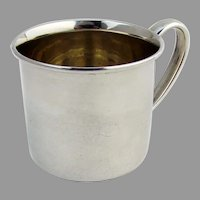 Lunt Childs Baby Cup N 114 Sterling Silver No Mono