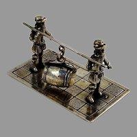 Dutch Barrel Carriers Miniature Figurine Niekerk 833 Standard Silver 1976
