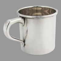 Plain Childs Baby Cup International Sterling Silver 1950