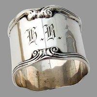 Towle Paul Revere Napkin Ring Sterling Silver Mono HB