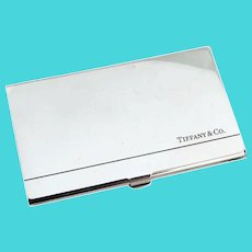 Tiffany Calling Card Case Sterling Silver Spain
