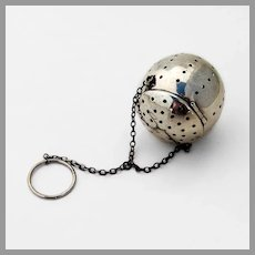 Tea Ball Blackinton Sterling Silver 1930