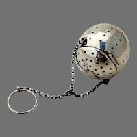 Tea Ball Blackinton Sterling Silver 1930